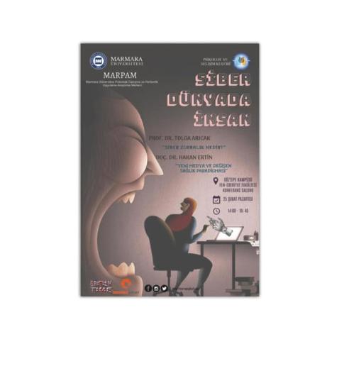 Siber Dünyada İnsan etkinlik görseli