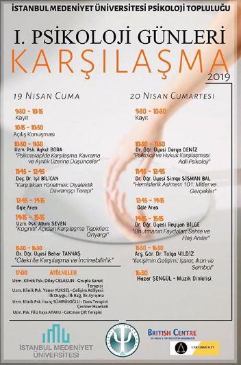 İstanbul Medeniyet Üniversitesi 1. Psikoloji Günleri: Karşılaşma