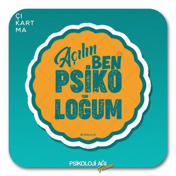 açılın ben psikoloğum sticker